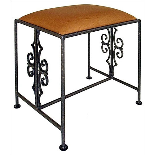 Grace Collection Gothic Vanity Bench by Grace Collection