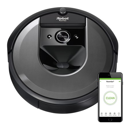 iRobot® Roomba® i7 (7150) Robot Vacuum- Wi-Fi Connected, Smart Mapping, Works with Alexa, Ideal for Pet Hair, Carpets, Hard Floors