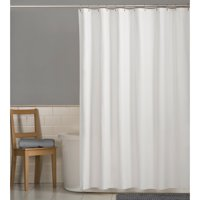 Product Image Mainstays Water Repellent 72 X 70 Fabric Shower Curtain Or Liner