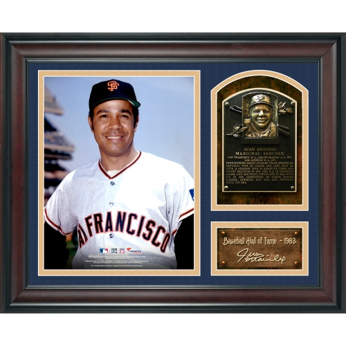 """Juan Marichal San Francisco Giants Fanatics Authentic Framed 15"""" x 17"""" Baseball Hall of Fame Collage with Facsimile Signature - No Size"""