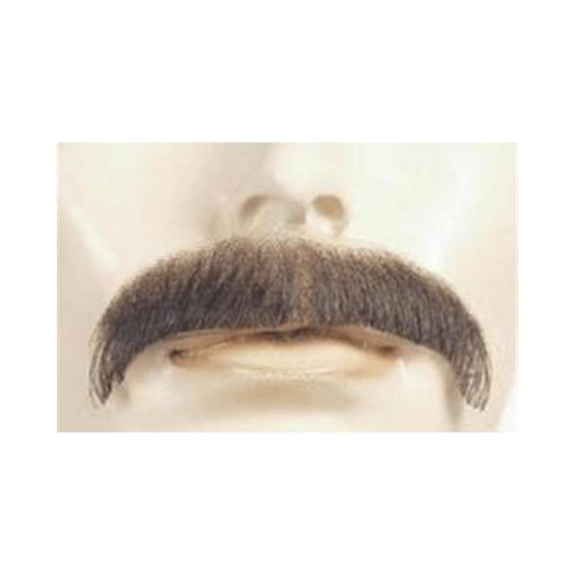 Morris Costumes LW425MBNRD M1 Blend Mustache, No.30 Medium Brown with Red - image 1 de 1
