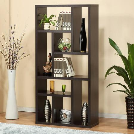 Furniture of America Multi-Purpose 3-in-1 Display Cabinet/ TV Stand/ Bookcase ()