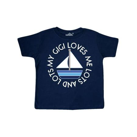 My Gigi Loves Me Sailboat Boys Sailing Toddler T-Shirt