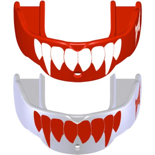 Tapout Fang Mouthguard 2-Pack - Adult - Red/White and White/Red