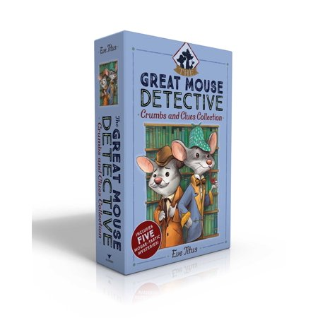 The Great Mouse Detective Crumbs and Clues Collection : Basil of Baker Street; Basil and the Cave of Cats; Basil in Mexico; Basil in the Wild West; Basil and the Lost Colony (West High Street)