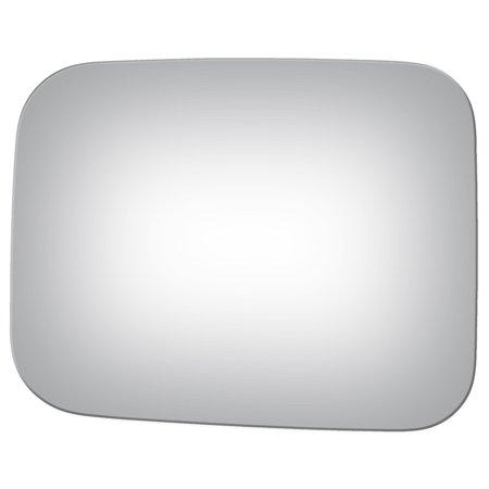 Burco 2722 Driver Side Replacement Mirror Glass for 1987-1990 Mitsubishi Van