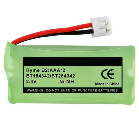 Replacement Battery For VTech CS6429-3 Cordless Phones - BT166342 (750mAh, 2.4V, NiMH) ()