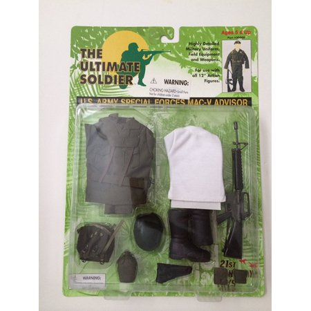 : U.S. Army Special Forces MAC-V Advisor, Ultimate Soldier: U.S. Army Special Forces MAC-V Advisor By Ultimate Soldier From USA (Army Special Forces Insignia)