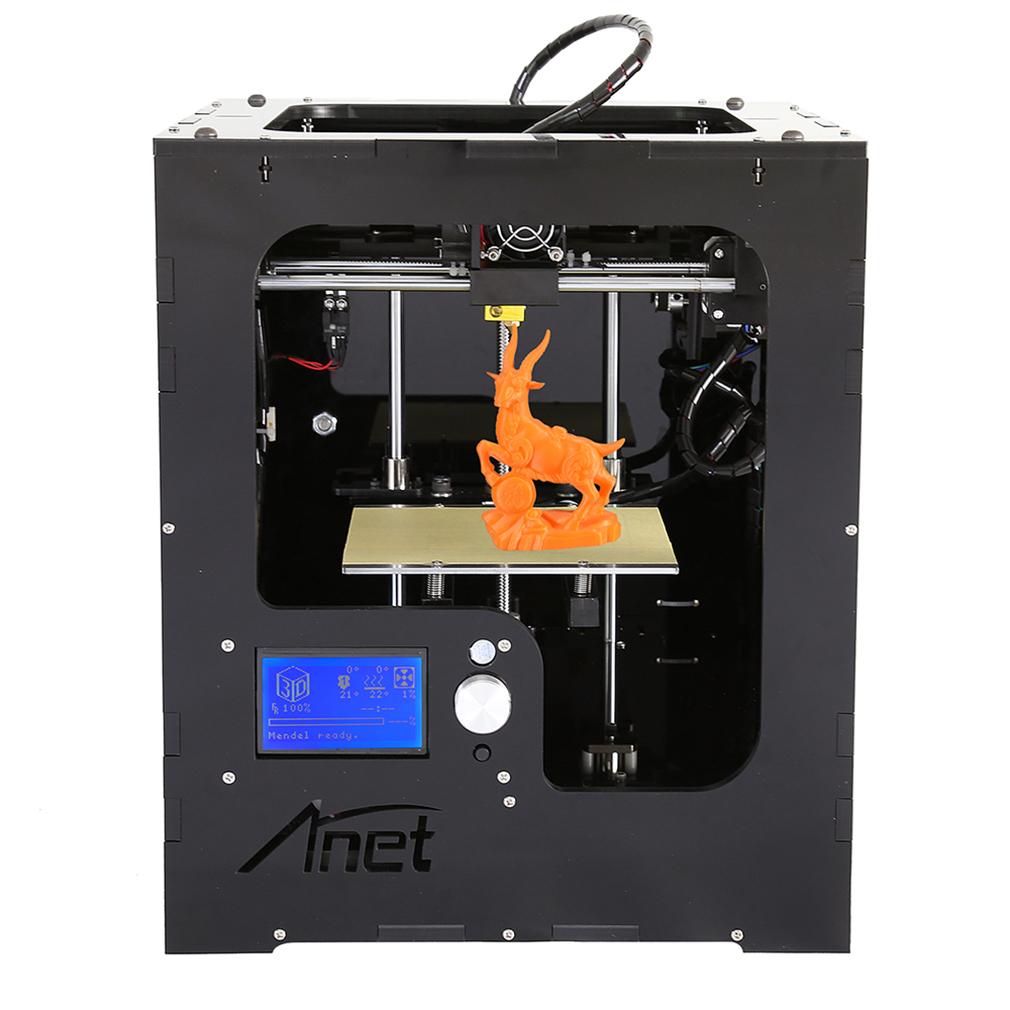 1Pc A3 3D Printer Full Assembled Desktop Aluminum Extruder Mainboard Component