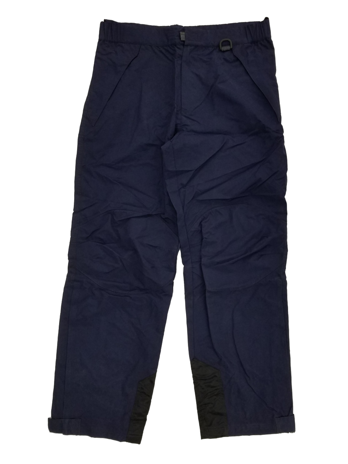 Mens Navy Blue Waterproof Breathable Reinforced Knee Skii Snowboard Pants
