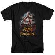 Mgm Army Of Darkness Bloody Poster Mens Short Sleeve Shirt