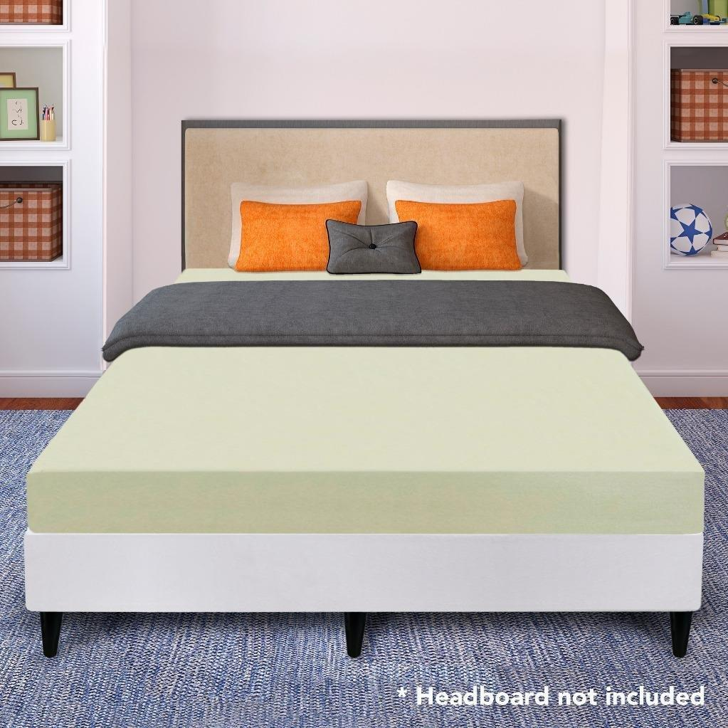 Best Price Mattress 6 Inch Memory Foam Mattress and New Innovative Steel Platform Bed Set, Multiple Sizes by Best Price Mattress