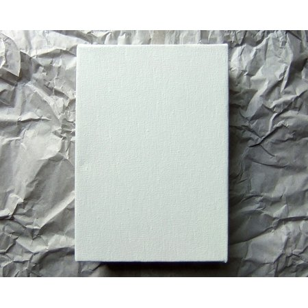 Artist Blank - Canvas Print Shape Paper Creative Blank Wrinkled Artist Stretched Canvas 10 x 14