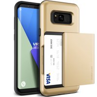 Samsung Galaxy S8 Plus Case Cover | Protective Wallet with Card Slots | VRS Design Damda Glide for Samsung Galaxy S8 Plus