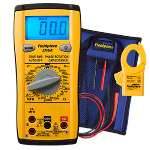 Fieldpiece LT16A Classic Style True RMS Digital Multimeter with Phase Rotation