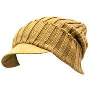 Luxury Divas Acrylic Knit Slouch Beanie Cap Hat