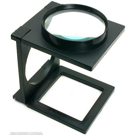 Stamp Coin Magnifier (5x Folding Magnifier Loupe Coin Stamp Magnifying Glass )