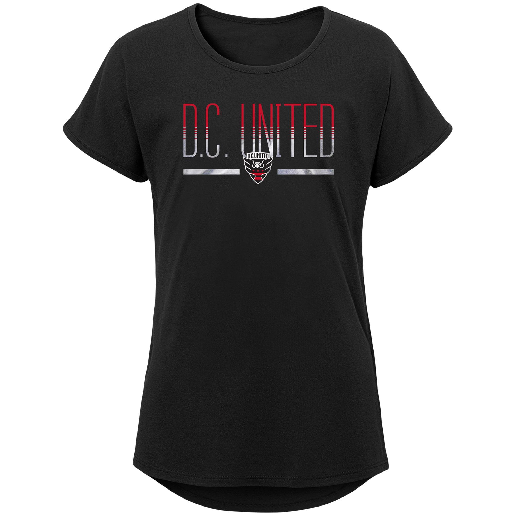 D.C. United Girls Youth Glory Dolman T-Shirt - Black