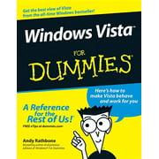 For Dummies: Windows Vista for Dummies (Paperback)