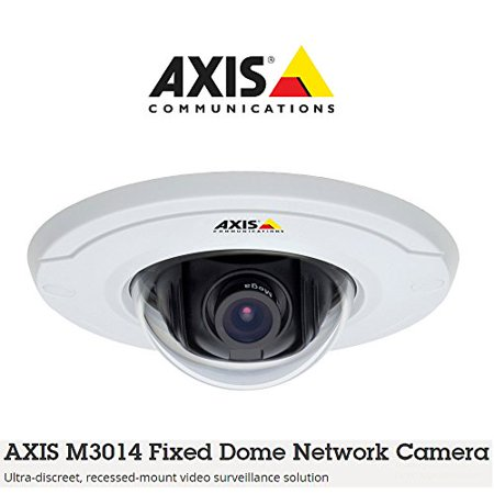 Axis M3014 Network Camera - Color - 1280 X 800 - Cmos - Cable - Fast Ethernet Axis M3014 Fixed Dome