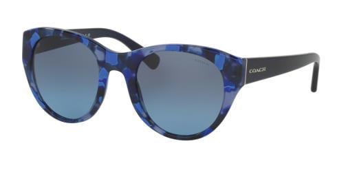e150a170d3fb7 ... denmark coach sunglasses hc8167f 536117 blue black mosaic navy 52mm  48f1e 24646 ...