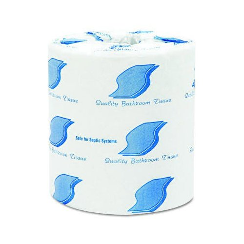 General Standard 2-Ply Toilet Paper - 500 Sheets per Roll