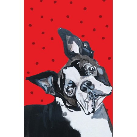 Journal Notebook for Dog Lovers Boston Terrier: Blank Journal to Write In, Unlined for Journaling, Writing, Planning and Doodling, for Women, Men, Kids, 160 Pages, Easy to Carry Size (Terrier Journal)