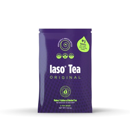 TLC Iaso Tea - Best Detox & Weight Loss Natural Tea (1 week supply) - 100% Natural Organic Herbs Tea - Best Way to lose Weight / Fat Buring / Cleanse & Detox your