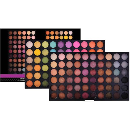 SHANY Ultimate Fusion Eyeshadow Palette (120 Color Eyeshadow Palette, Natural Nude and Neon Combination), Net Wt. 120g (Heavy Halloween Cosmetics)