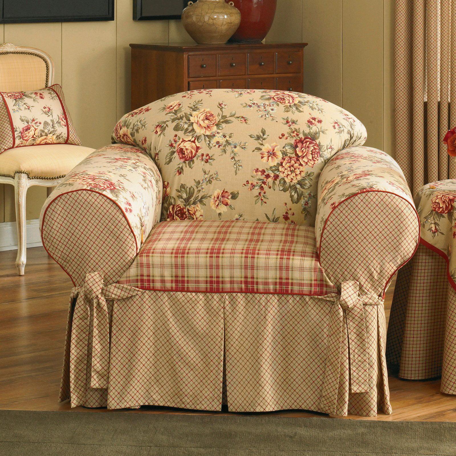 Sure Fit Lexington Chair Slipcover, Multi-Color