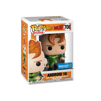 Funko POP! Animation: Dragon Ball Z S7 - Android 16 (Metallic) - Walmart Exclusive