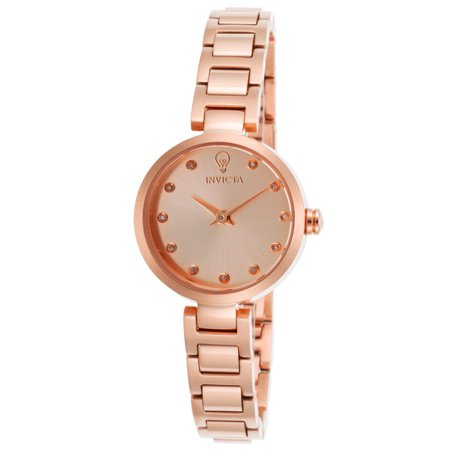 Invicta 22950 Womens Gabrielle Union Diamond Rose 18K Gold Plated Ss Rose Tone Dial Watch