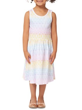 Little Girl's Printed Dress