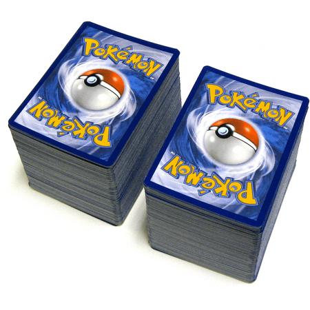 Pokemon Lot of 400 Commons & Uncommons Single -