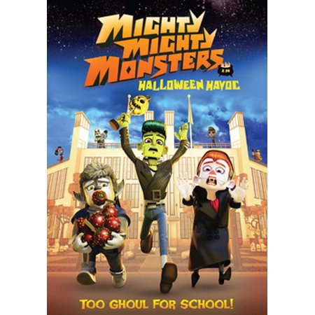 Animated Halloween Movies 2000 (Mighty Mighty Monsters in Halloween Havoc)