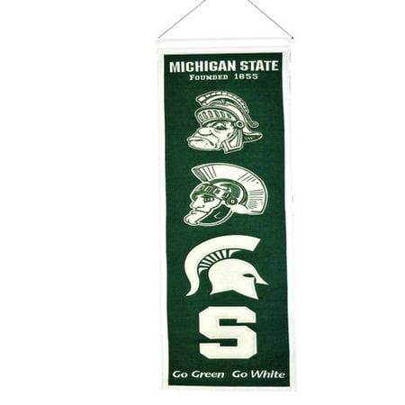 Michigan State Banner - Michigan State Heritage Banner