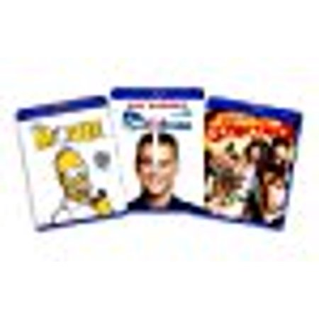 Blu-ray Comedy Bundle (Simpsons the Movie / Me, Myself and Irene / Meet the Spartans) - (Amazon.com Exclusive)](Spartan Movie)