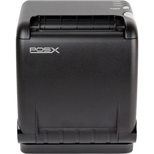 POS-X - ION-PT2-1US - POS-X Direct Thermal Printer - Monochrome - Desktop - Receipt Print - 8.66 in/s Mono - 180 x 180
