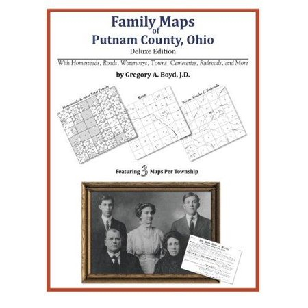 Family Maps Of Putnam County  Ohio