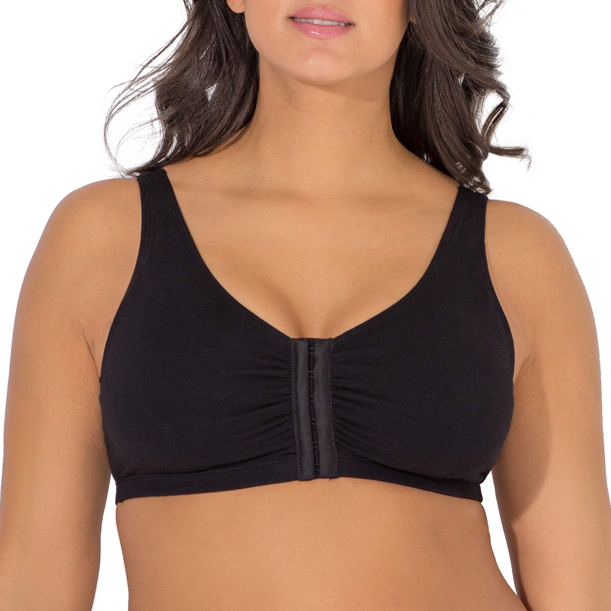 Fruit of the Loom Womens Comfort Front Close Sport Bra, Style 96014