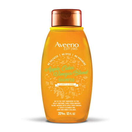 Aveeno Apple Cider Vinegar Blend Shampoo, 12 fl. oz