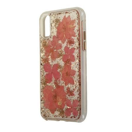 official photos 08d33 02d55 Case-Mate Karat Petals Series Hard Case for Apple iPhone X 10 - Pink  Flowers (Refurbished)