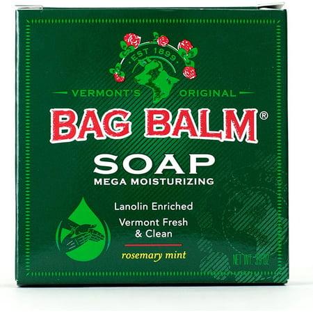 Bag Balm Mega Moisturizing Soap, Rosemary Mint 3.90 oz