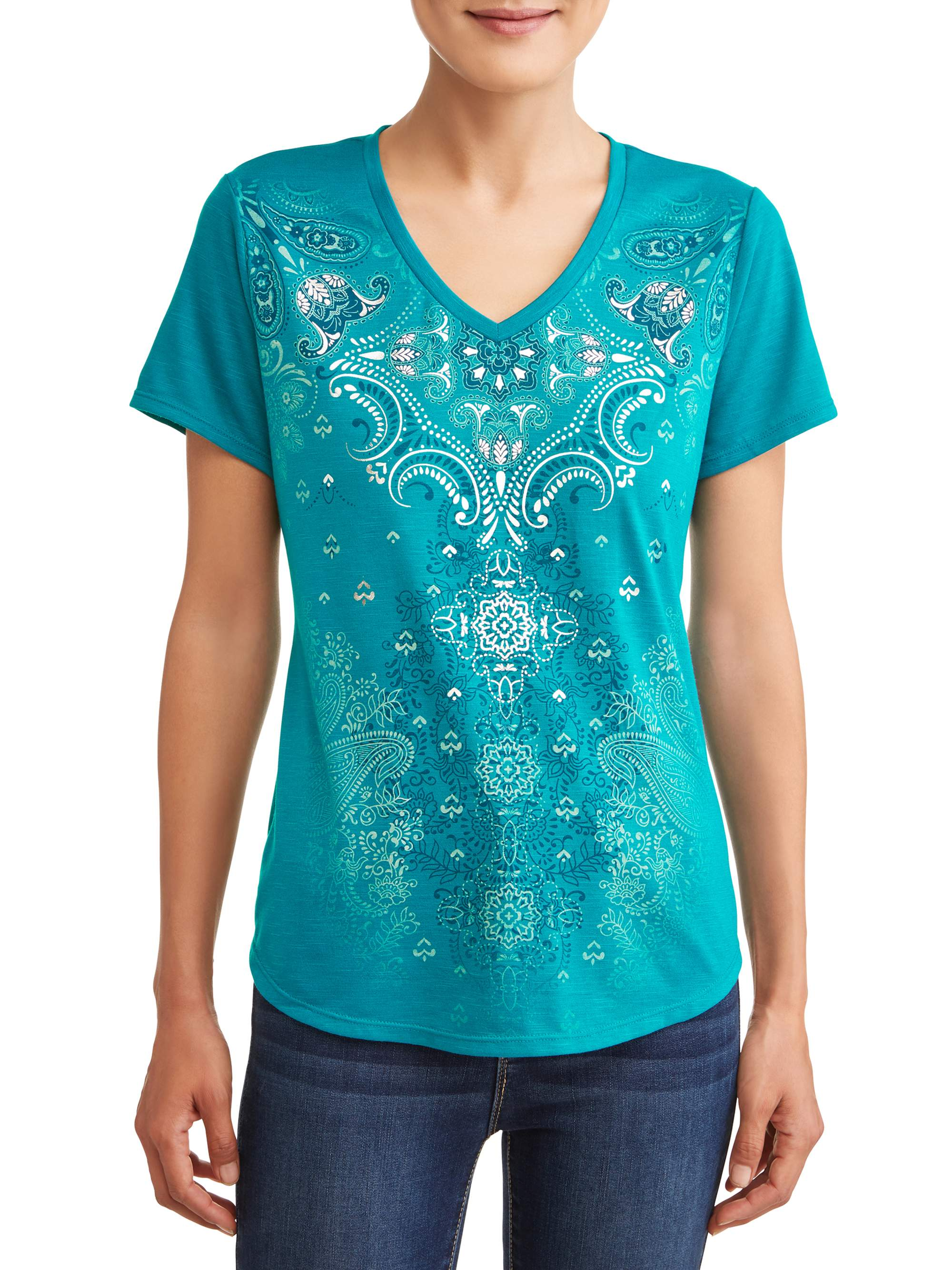 Women's Short Sleeve Sublimation T-Shirt