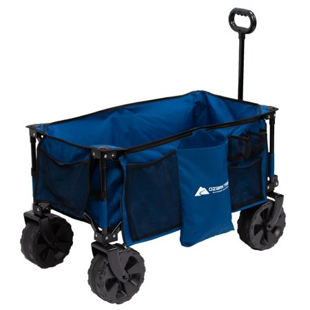 452da4ee679c Ozark Trail All-Terrain Wagon with Oversized Wheels, Blue - Best ...