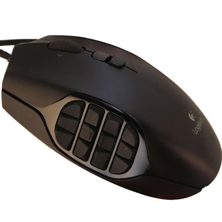d6b4eeffdad Logitech G600 MMO Gaming Mouse / RGB Backlit / 20 Programmable Buttons /  8200DPI (Refurbished) - Walmart.com