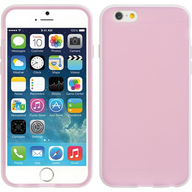 DreamWireless TPU Gel Case Cover For Apple iPhone 6/6s, Pink