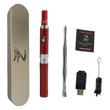 Titan 1 Dry Herb Vaporizer Pen - Red