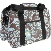 "JanetBasket Blue Floral Eco Bag, 18"" x 10"" x 12"""