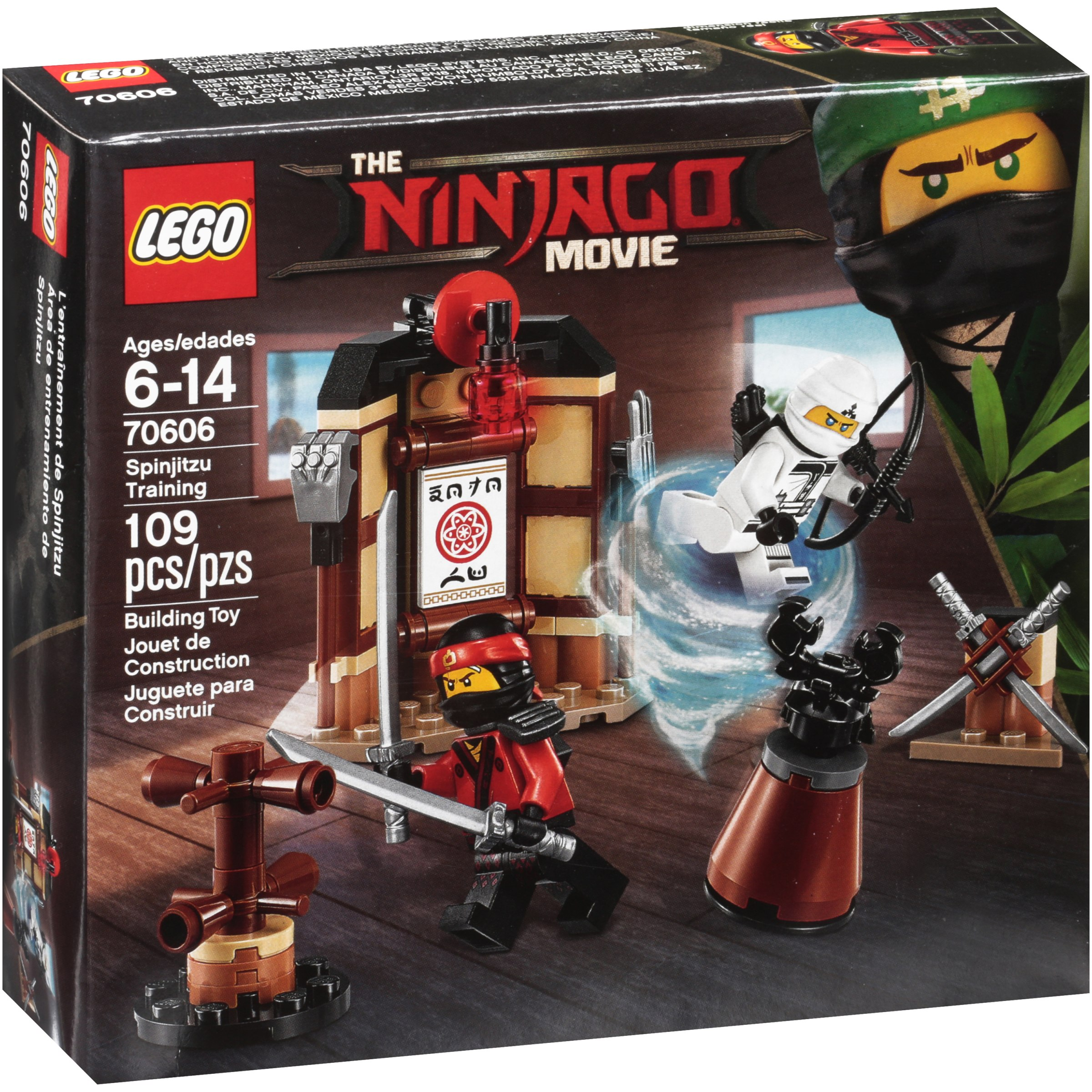 70606 Lego Ninjago Movie Spinjitzu Training 109 Pieces Age 6-14 New Release 2017
